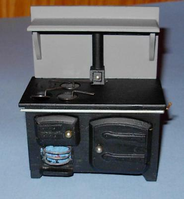Coal Stove Old Fashion Dollhouse Furniture