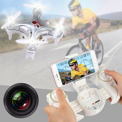 Cheerson CX-10WD-TX Mini Wifi FPV High Hold 0.3MP Camera RC Quadcopter + Remote