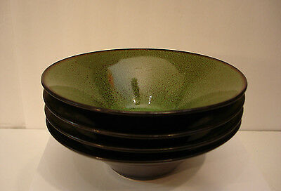 "Fusion Wasabi by Gabbay SOUP & CEREAL BOWL 7"" SET / 4"