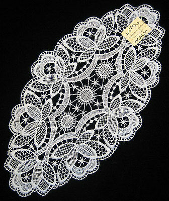 Pointy Doily Made In Germany White Lace Tablecloth