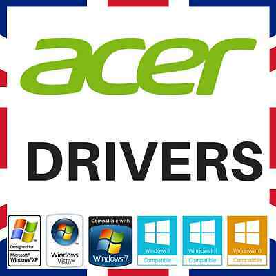 Acer Laptop & Pc Drivers Recovery Restore Dvd Disc Fix Repair Windows Xp/7/8/10