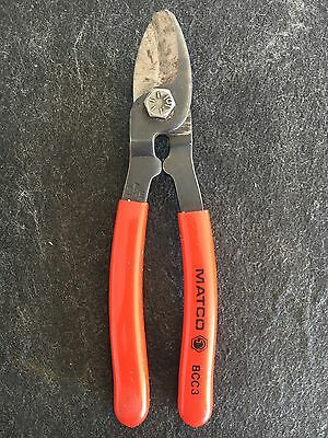 "Matco Tools BCC3 Cutter Shears Tool USA 7 3/4"" Long"