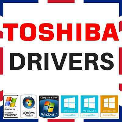Toshiba Laptop Pc Drivers Recovery Restore Dvd Disc Fix Repair Windows Xp/7/810