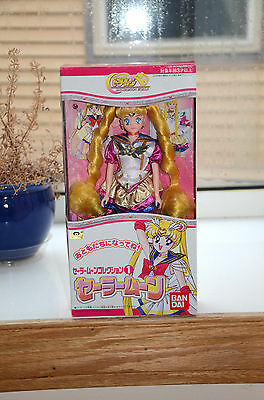 Eternal Sailor Moon musical doll collection 1 bandai japan Japanese 1999