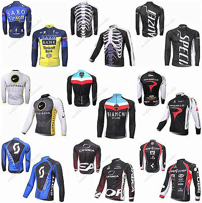 New 80 Style Cycling Jersey Comfortable Bike/Bicycle Outdoor jersey Long Sleeve