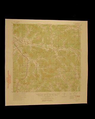 Duck Hill Mississippi vintage 1954 original USGS Topographical chart