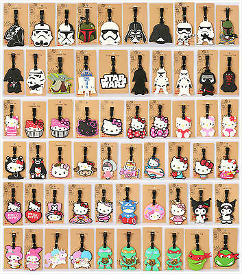 Travel Luggage Tags Labels Strap Name Address Suitcase Bag Star wars