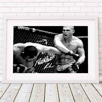 ROBBIE LAWLER - UFC MMA Poster Picture Print Sizes A5 to A0 **FREE DELIVERY**