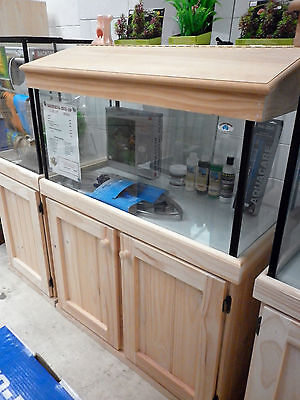 "3'x14""x18"" Glass Aquarium Fish Tank Cabinet Hood"