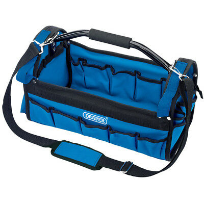 Draper Tote Tool Caddy Bag Carry Case With Heavy Duty Base Holdall 02983