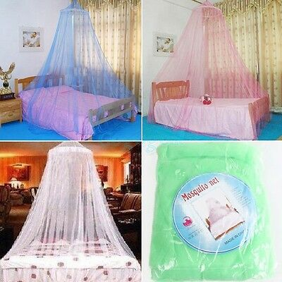 Single Entry Mosquito Net Canopy Bites Protect For Single Double King Size Bed
