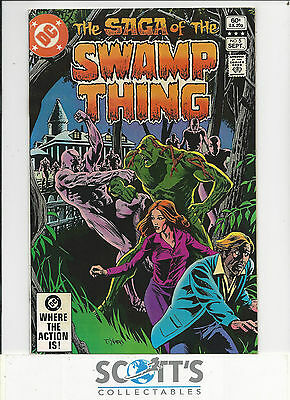 Saga of Swamp Thing  #5  VG