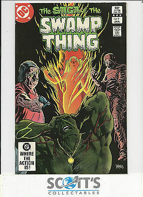 Saga of Swamp Thing  #9  VG/FN