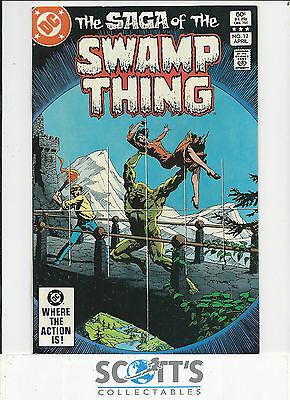 Saga of Swamp Thing  #12  VF