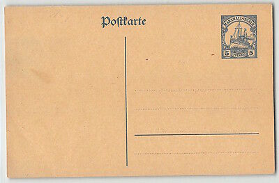 Dr Kolonien Marshall-Inseln, P 15, Ganzsache , Postal Stationery