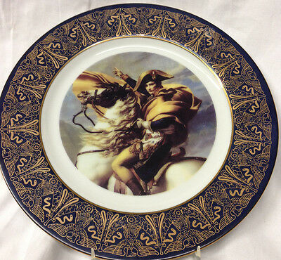 Memphis 1993 Wonder International Cultural Series Plate Napoleon Tennessee Horse