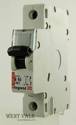 Legrand Lexic - 032 74 - 40a Type B Single Pole MCB New