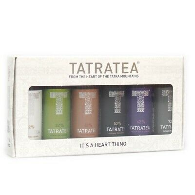 Tatratea PET Mini Set 6x 50ml 22%/32%/42%/52%/62%/72% Vol.
