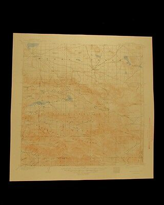 San Gorgonio California vintage 1948 original USGS Topographical chart