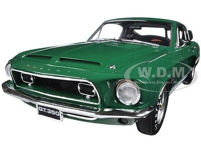 1968 Ford Shelby Mustang Gt 350 Wt Color Code 7081 Release #5 1/18 Acme A1801809