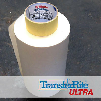 TransferRite Application Tape for Sign Vinyl (1 Roll - 260mmx100m) Free Shipping