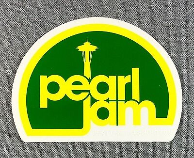 Pearl Jam Sticker 4.5in Music Rock Band Seattle si