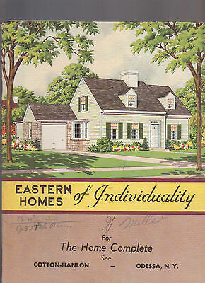 Eastern Homes of Individuality for the Home Complete House Plans 1948