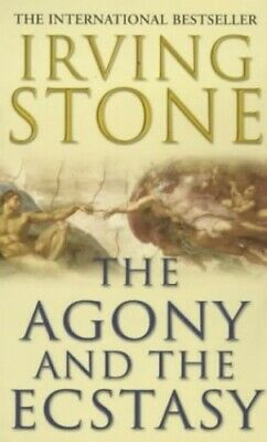The Agony And The Ecstasy by Stone, Irving Paperback Book The Cheap Fast Free