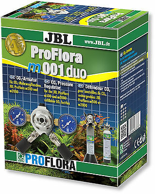 JBL ProFlora m001 duo - Supplies 2 Aquariums from one Co² Bottle