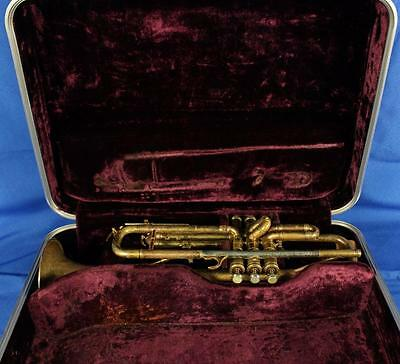 Vintage Selmer Paris Grands Prix MB LP 22 Bb Trumpet Brass w/ Case