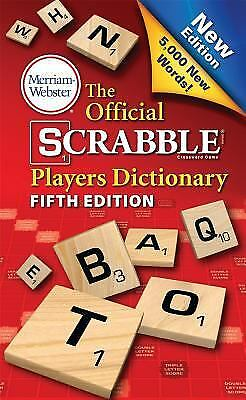 The Official Scrabble Players Dictionary, New 5th Edition (mass market,...