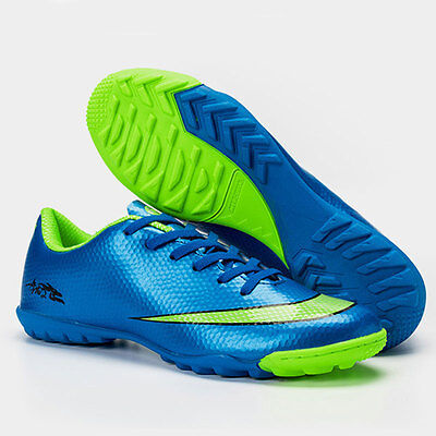 Men Youth Kids Soccer Indoor Shoes TF Turf Soccer Cleats Football Trainers Shoes