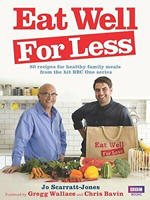 Eat Well for Less by Scarratt-Jones, Jo Book The Cheap Fast Free Post