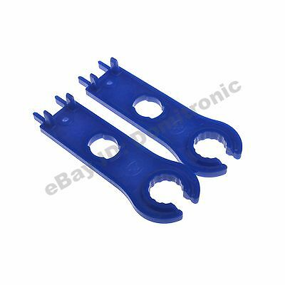 MC4 Connector Wrench MC4 Spanner Solar Panel Connector Disconnecting Tool Blue