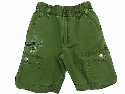 Diesel Boys Cargo Shorts Puling Khaki Green Age 2-8 Years NEW