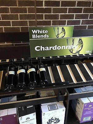 Wine shelf for business