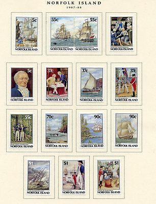 Stamp / Timbre British Colonies / Norfolk Island Lot Neuf Avec  Charniere