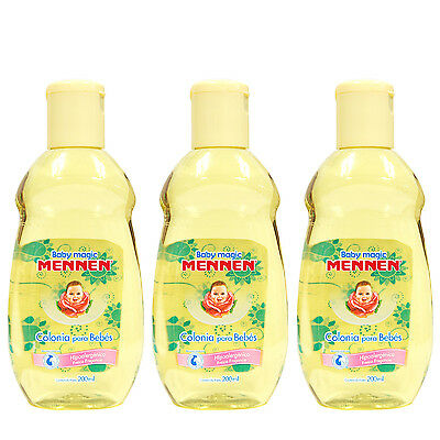 Mennen Baby Magic Cologne for Baby Fragrance Colonia Para Bebe 200ml (3-PACK)