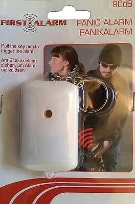 Security Panic Alarm personal safety, 90db (Excellent strength for the price)