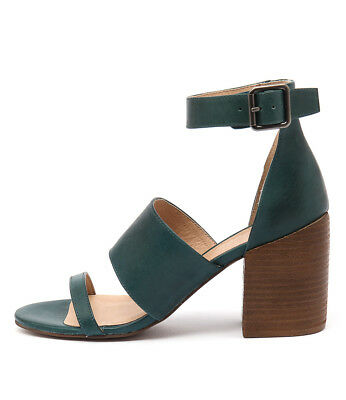 New Silent D Kandle Turquoise Womens Shoes Casual Sandals Heeled