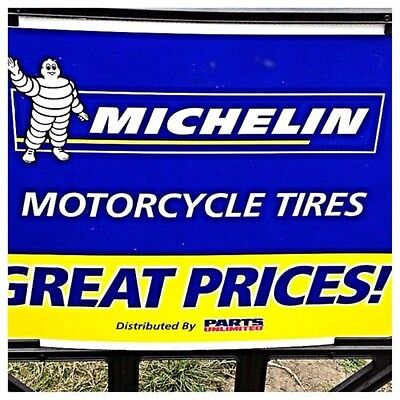 MICHELIN Man Sign Motorcycle Tires Advertising Bike Stand