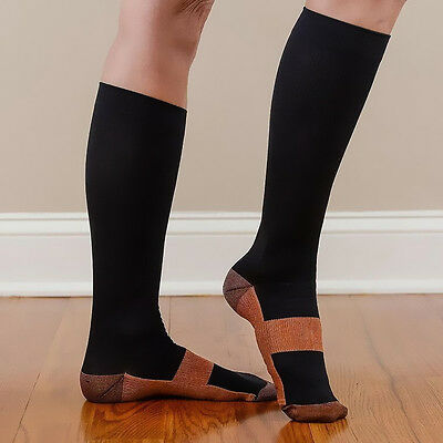 Fashion Charm Miracle Anti-Fatigue Soft Unisex Copper Magical Compression Socks