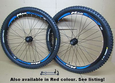 "27.5"" 650B MTB Mountain Bike 8/9/10 Speed Disc QR Wheel Set Kenda 60tpi Tyres"
