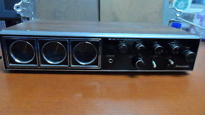Vintage Panasonic IC FET FM-AM-FM Multiple Stereo Model RE-7680