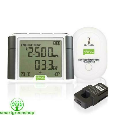 Efergy Elite 4.0 Wireless Home Energy Monitor Electricity Saving Smart Meter
