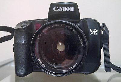 Vintage Canon E05 A2E camera EXCELLENT condition + Canon Zoom lens 28-80mm