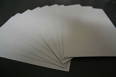 10 x 1mm x A4 Magnetic Magnet Sheets (Adhesive Front) - Craft Fridge Flexible