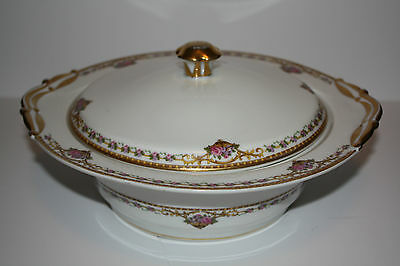 limoges L. Bernardaud & Co. Chamberry Serving Dish with Lid