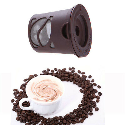 Reusable Coffee Capsules Cup Filter Stainless Mesh For Keurig K-Cup