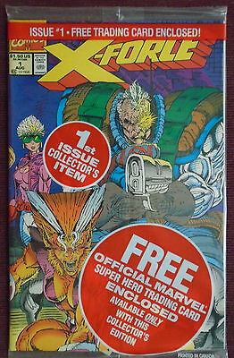 X-Force (1991 1st Series) #1A (Cable card) , NM 9.0